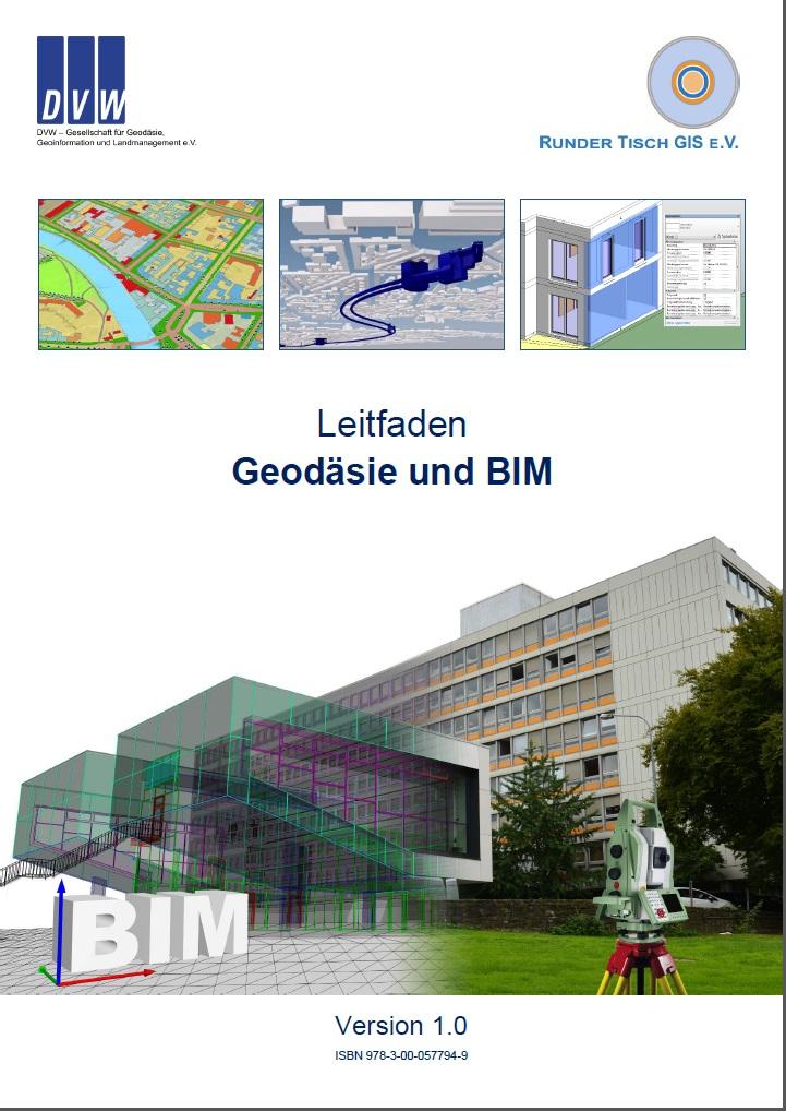 Titelbild-Leitfaden Geodäsie und BIM