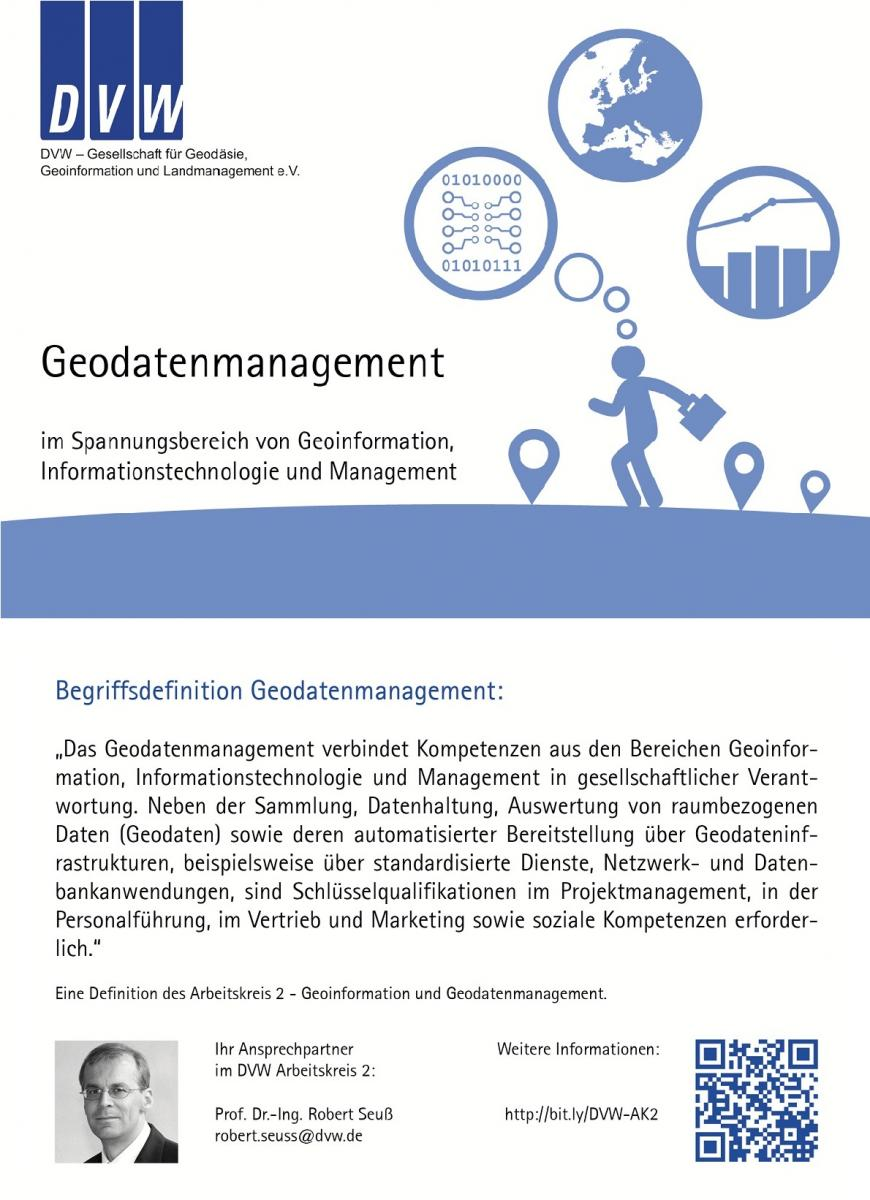 Definition Geodatenmanagement