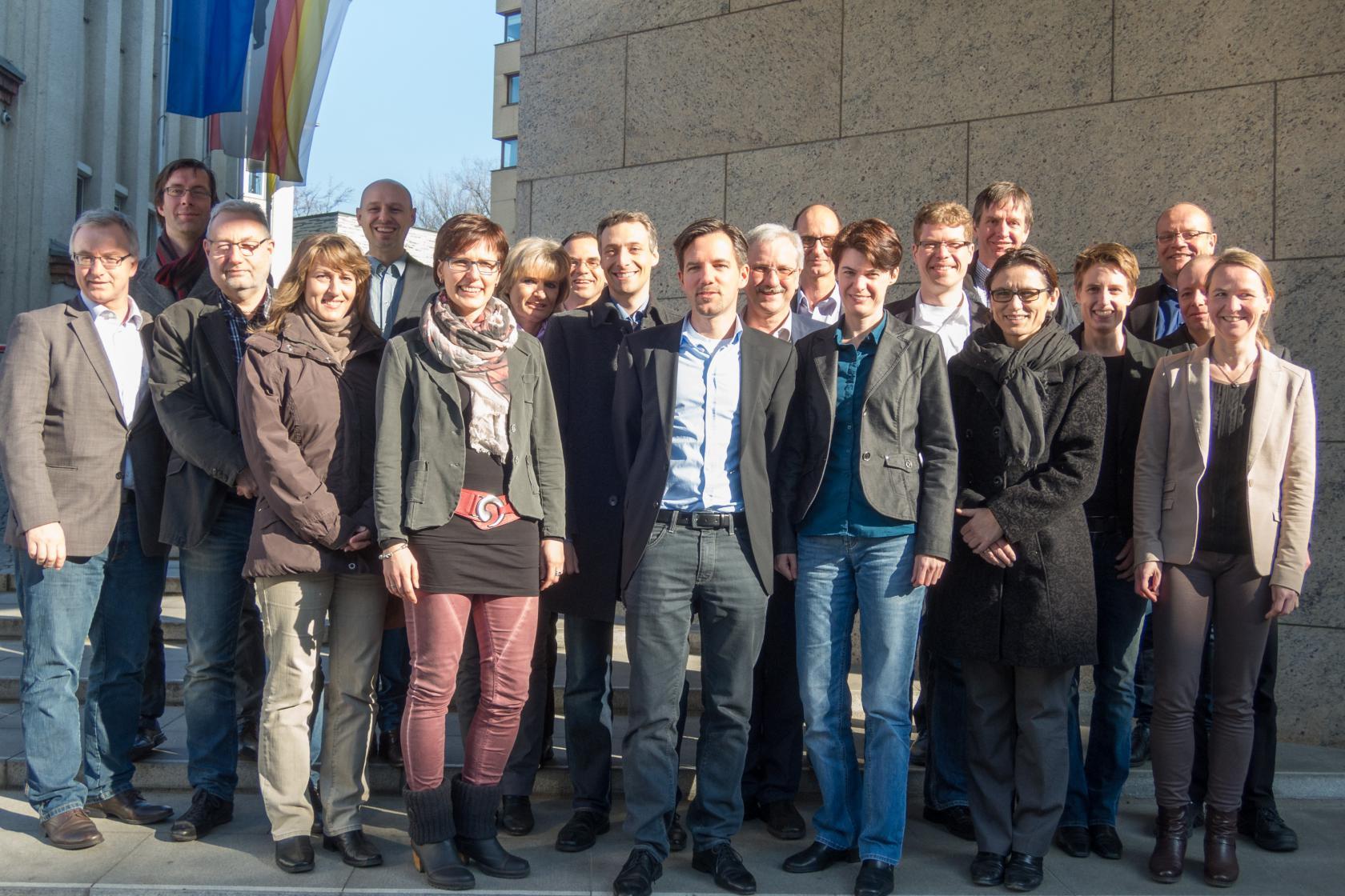 Gruppenbild Berlin 2015