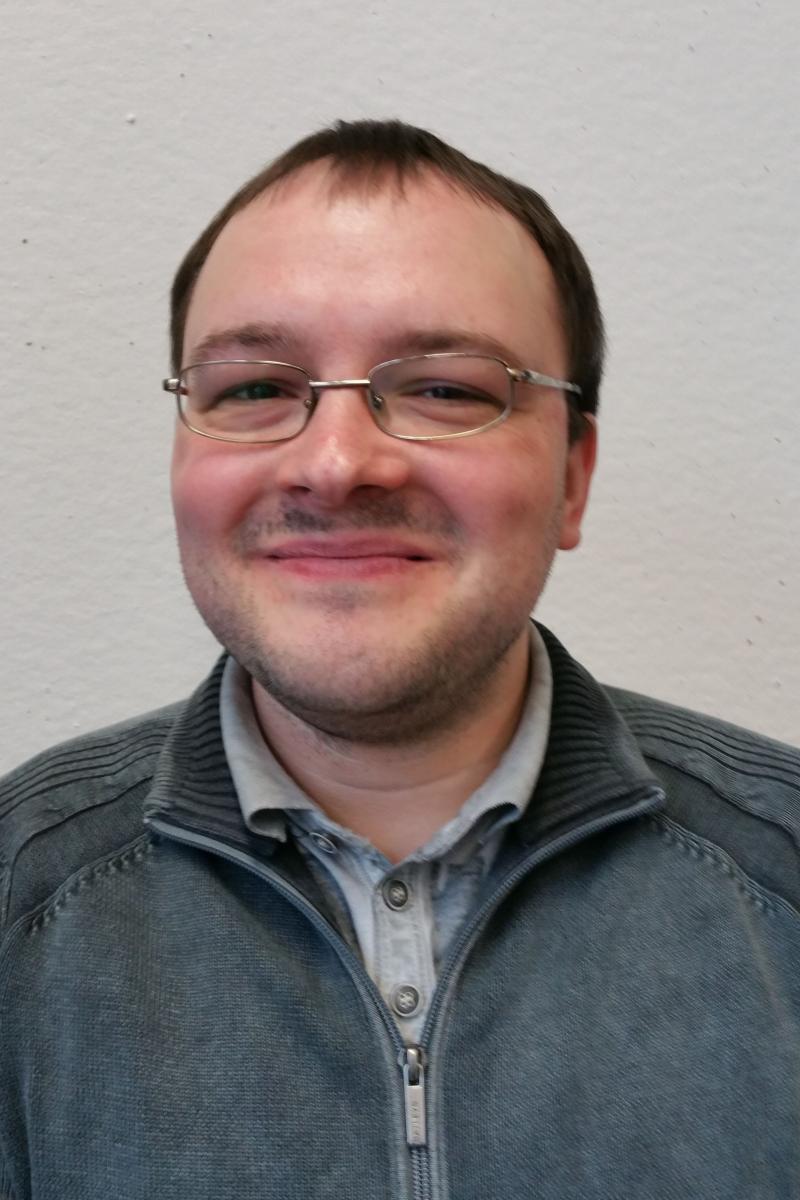 Portraitfoto Erik Jensen