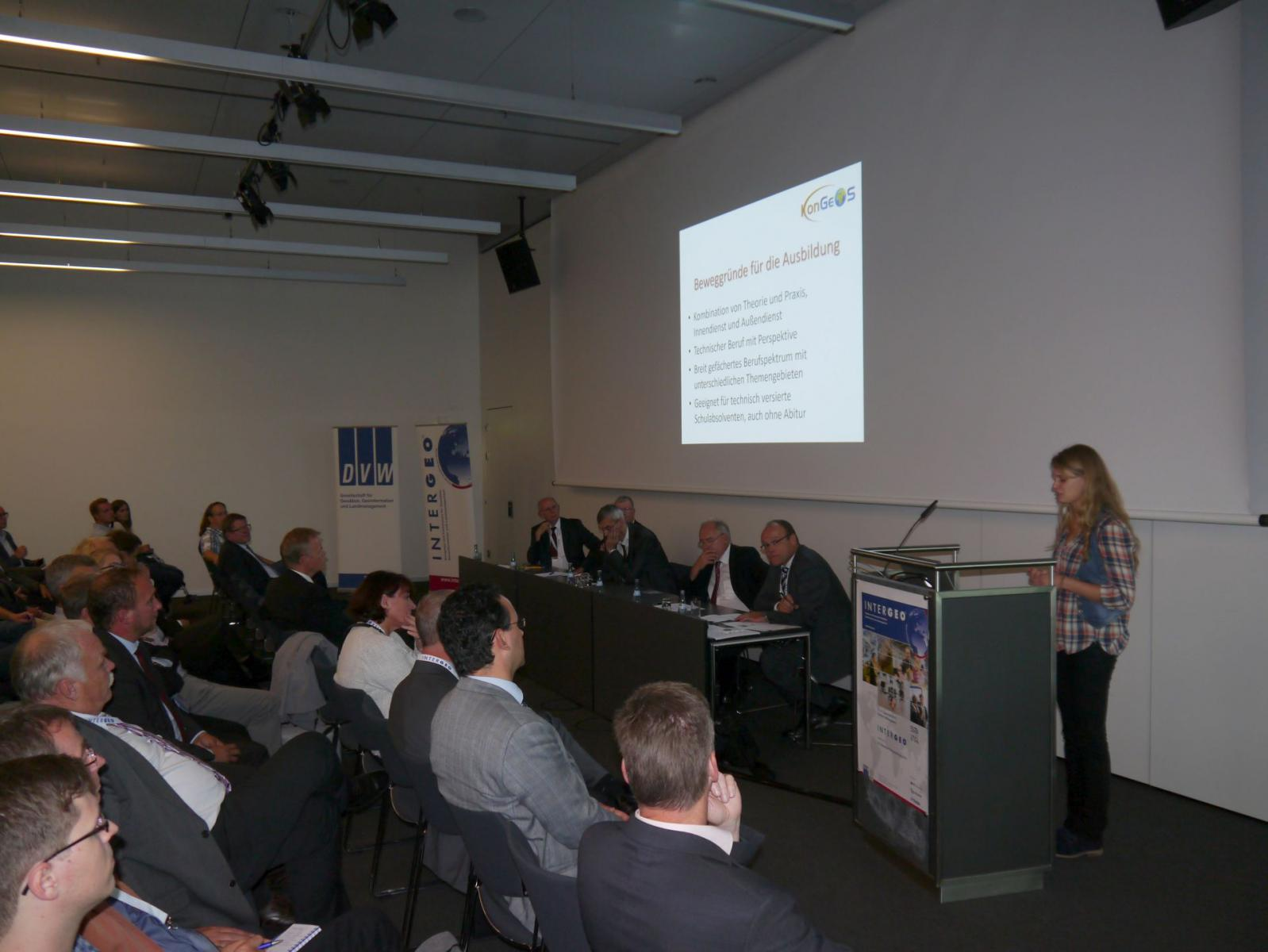 Podiumsdiskussion Blackler INTERGEO 2015