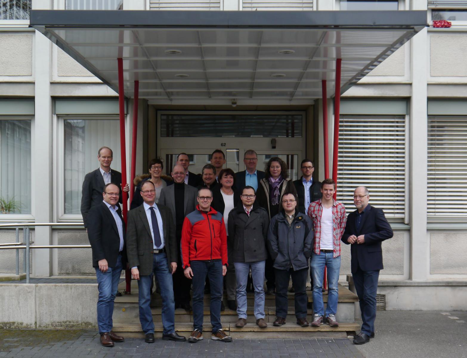 Gruppenbild des Arbeitskreis 1 in Bielefeld