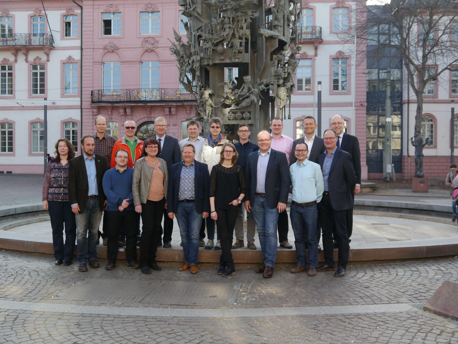 Gruppenbild AK 1 in Mainz