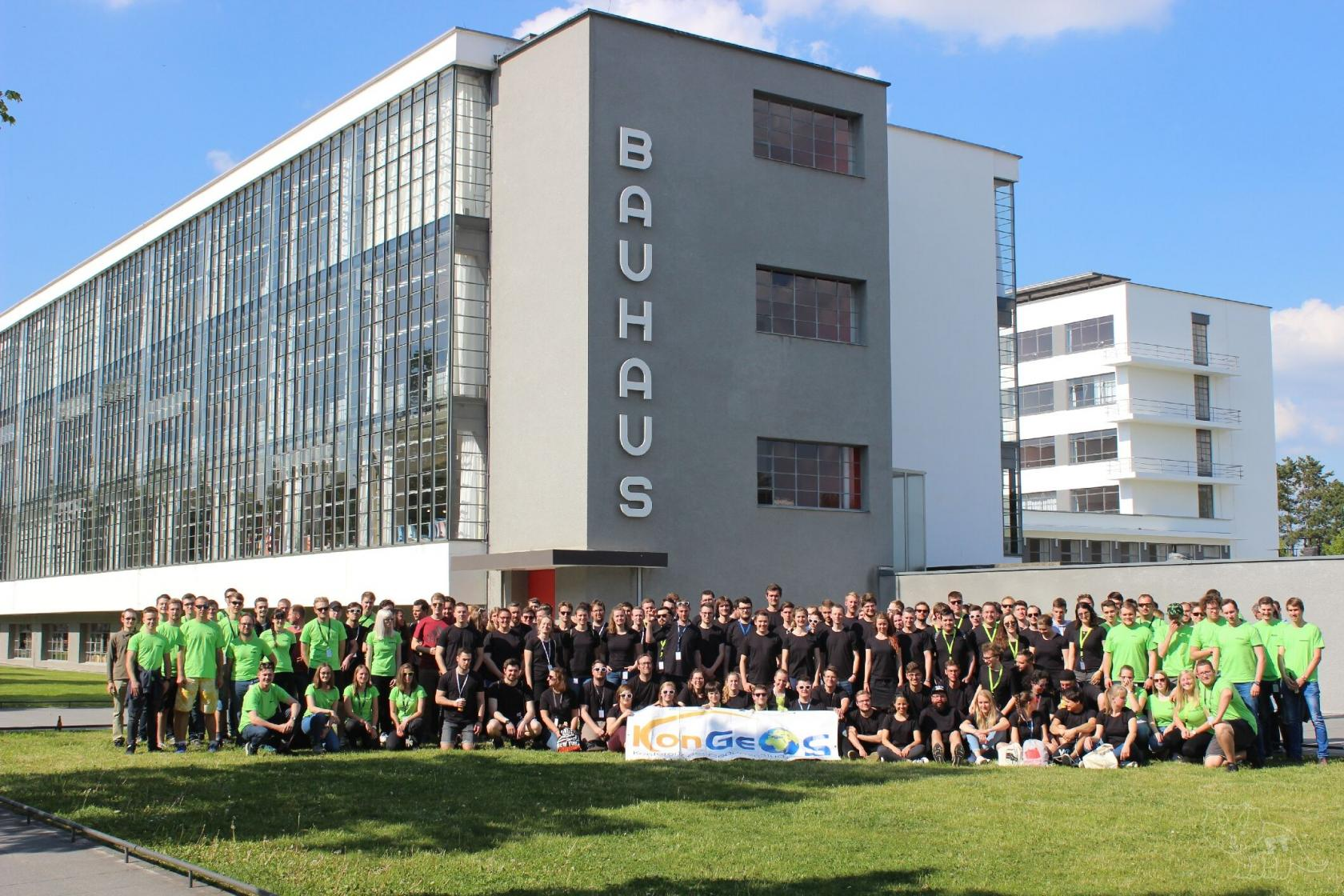 Gruppenfoto KonGeoS 2019 Dessau (Bild: Florian: Thiery)