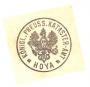 Dienstsiegel Katasteramt Hoya (1885)