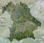BayernAtlas mit Aktionsstandorten