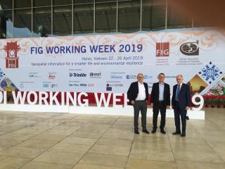 Start der FIG Working Week 2019 (Foto: DVW e.V.)