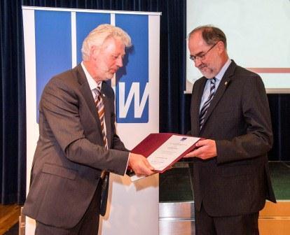 DVW-Ehrenmitgliedschaft für Wilhelm Zeddies