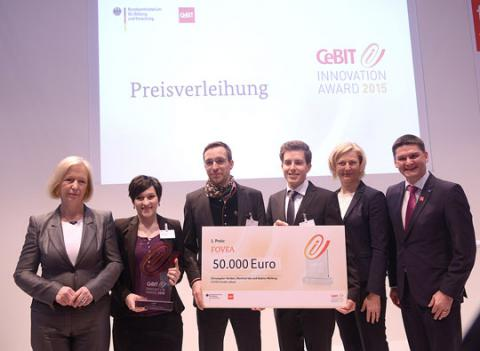 CeBIT Innovation Award 2015