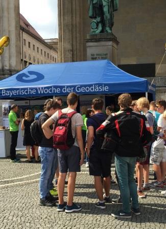 Abschlussveranstaltung in München (Foto: Bayerische Vermessungsverwaltung)