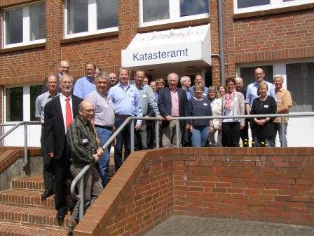 Teilnehmer ALKIS-Workshop (Foto: Heinz-Dieter Roesler)