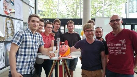 """Projektteam """"Campus Köthen"""" der HS Anhalt (Foto: HS Anhalt)"""
