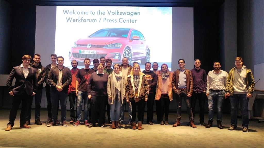 Erstsemester Hochschule Anhalt bei VW