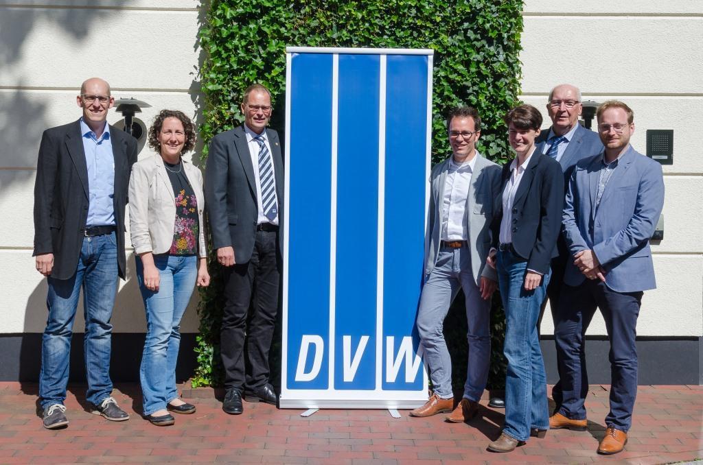 Vorstand DVW-Niedersachsen-Bremen (Foto: A. Weitkamp)