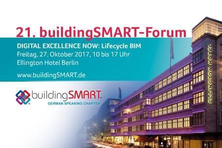 21. buildingSMART-Forum: Schwerpunkt Lifecycle BIM