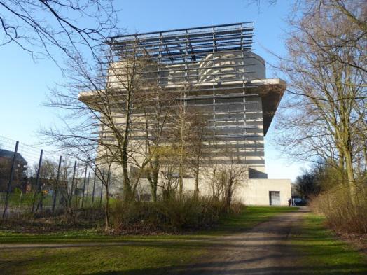 Energiebunker - Besichtigung möglich (Foto: Gabriele Dasse)