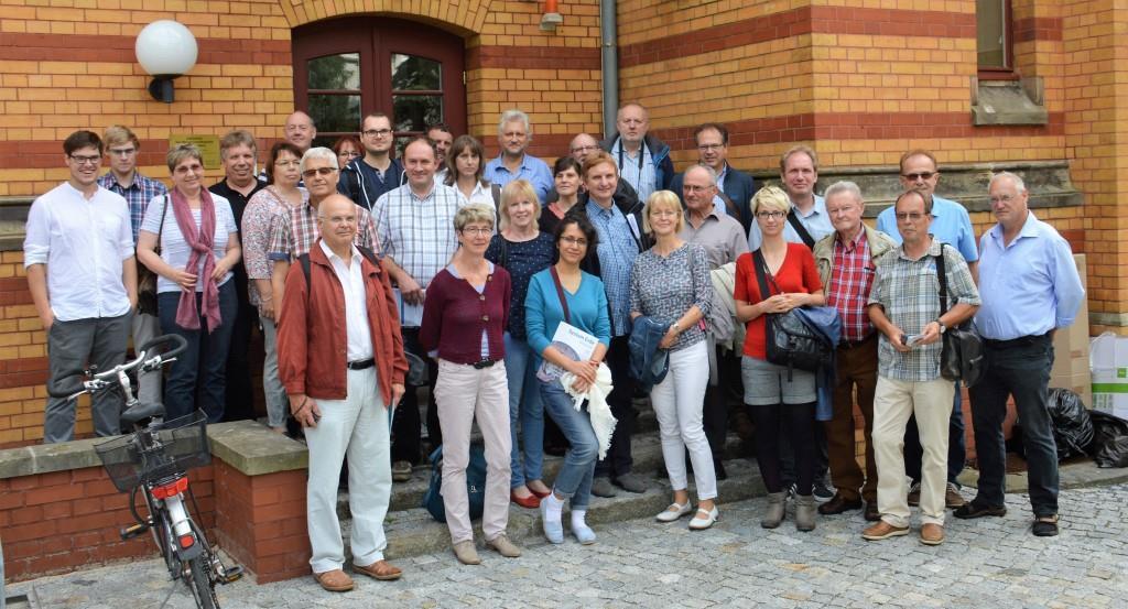 Exkursionsteilnehmer (Foto: DVW Sachsen-Anhalt)
