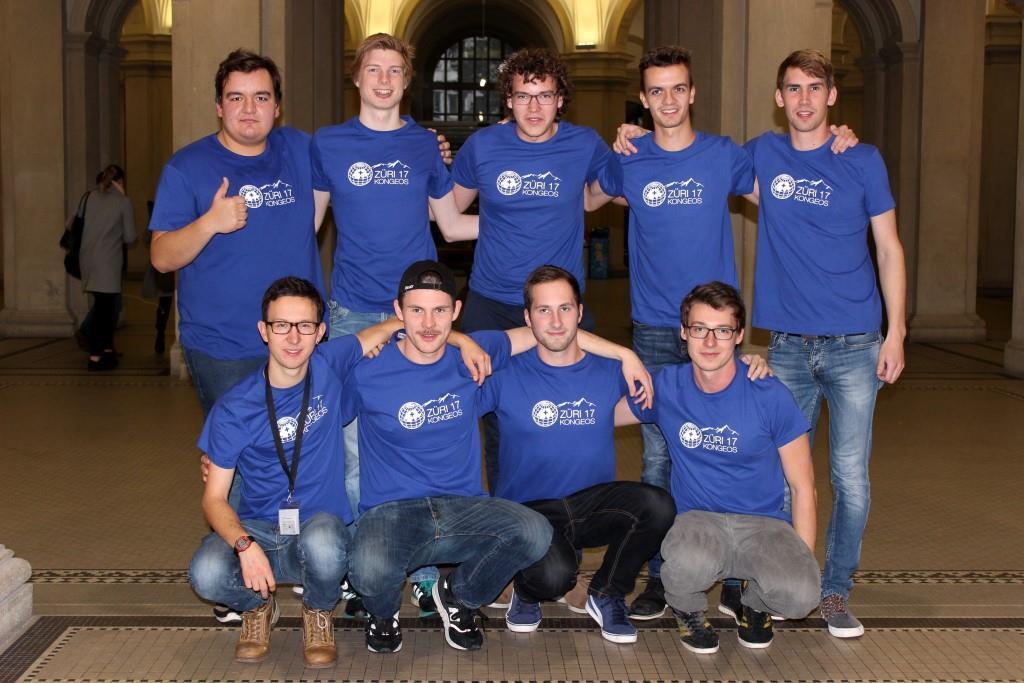11. KonGeoS in Zürich – Studierende der HS-Anhalt bedanken sich