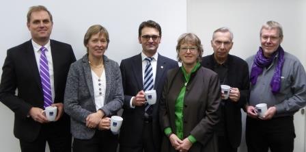 Funktionsträger der Bezirksgruppe Hamburg