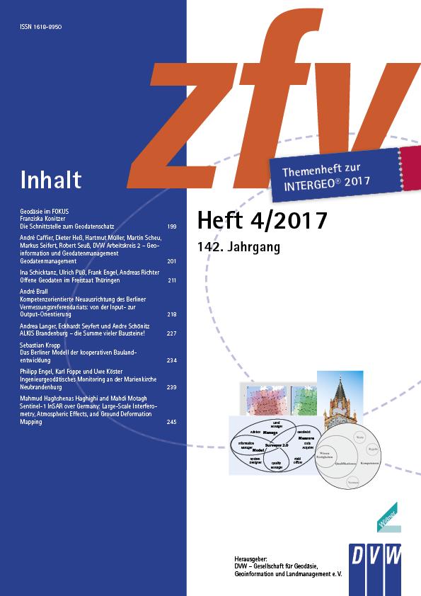 Fachbeiträge der zfv 4/2017 online verfügbar