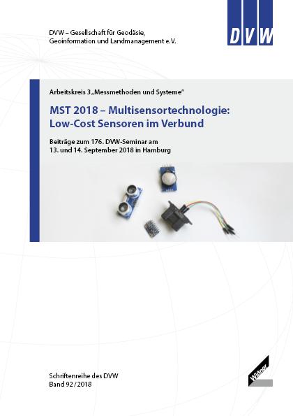 Band 92 der DVW-Schriftenreihe erschienen - MST 2018 – Multisensortechnologie