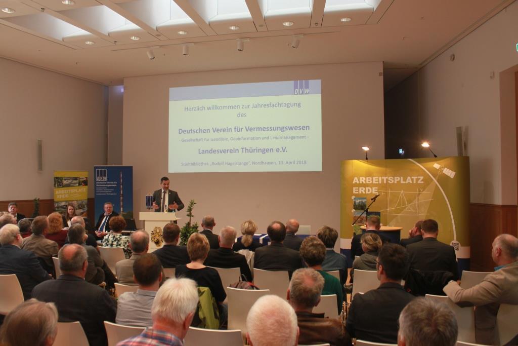 Rückblick auf Jahresfachtagung des DVW-Thüringen in Nordhausen