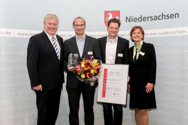 4. Wirtschaftspreis geht an Uwe Erhorn