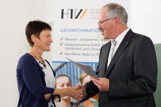 Harbert-Buchpreis an Schopp (Foto: Peter Sebb, HTW Dresden)