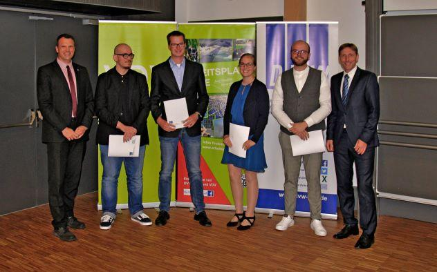 Bestenehrung an der Hochschule Bochum (Quelle: HS Bochum)