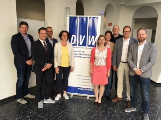 Der neue DVW-Landesvorstand Niedersachsen/Bremen e. V (Foto: Klaus Kertscher)