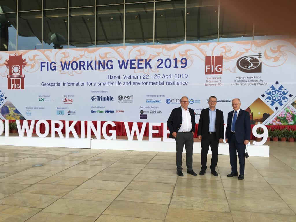 FIG Working Week 2019 (Foto: DVW e.V.)