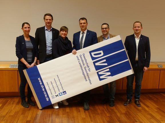 Neuer Vorstand (Bild: © DVW NRW e.V.)