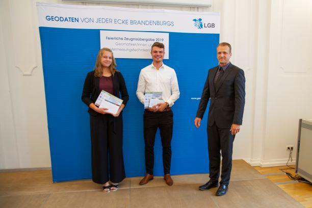 Junge Berufskollegen/innen in Brandenburg (Quelle: DVW Berlin-Brandenburg)