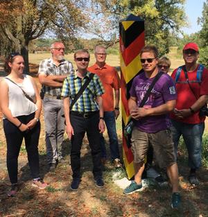 Fachexkursion an der deutsch-polnischen Grenze