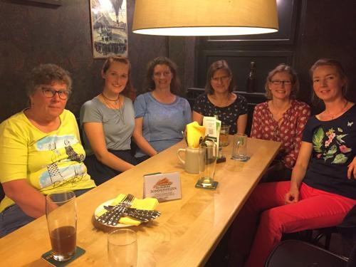 Jutta Reinhardt, Franziska Poltersdorf, Nicole Heinrich, Frauke Bergmann, Nadine Kannegießer und Heike Winter (von links nach rechts) Foto: Nicole Heinrich 2018