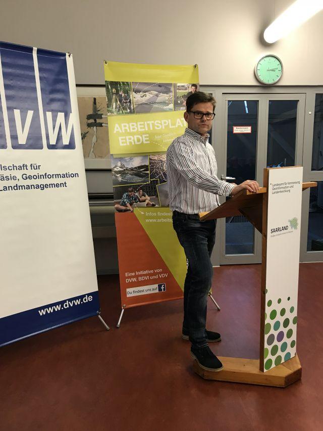 Guido Montag bei seinem Fachvortrag